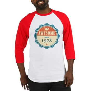 Awesome Since 1978 Baseball Jersey