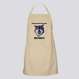 Courage Wolf Apron