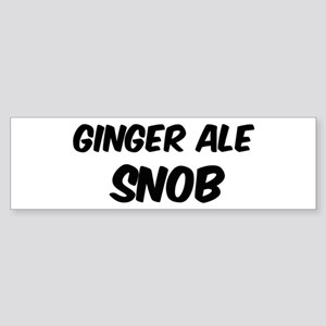 Ginger Ale Bumper Sticker