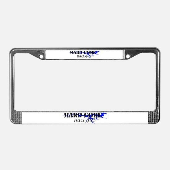 HC_NACI_GIRL_1 License Plate Frame