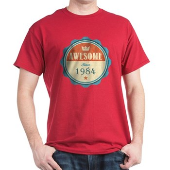 Awesome Since 1984 Dark T-Shirt