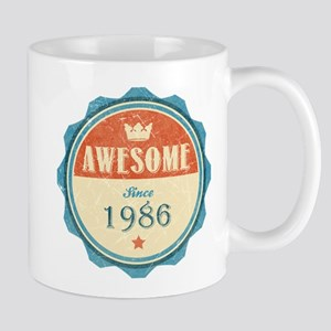 Awesome Since 1986 Mug