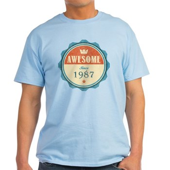 Awesome Since 1987 Light T-Shirt