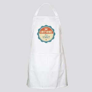 Awesome Since 1987 Apron