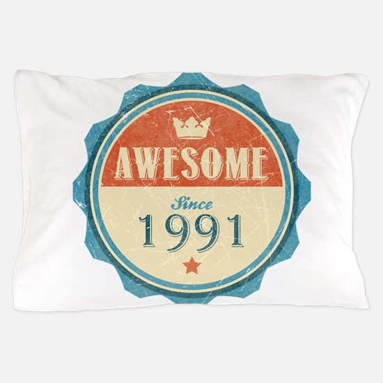 Awesome Since 1991 Pillow Case