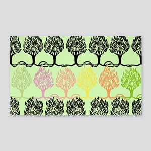 Spring Colors - Beardsley's Trees 3'x5' Area Rug