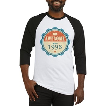 Awesome Since 1996 Baseball Jersey