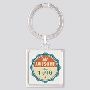Awesome Since 1996 Square Keychain