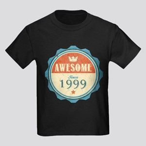 Awesome Since 1999 Kids Dark T-Shirt