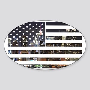 Flag Sticker (Oval)