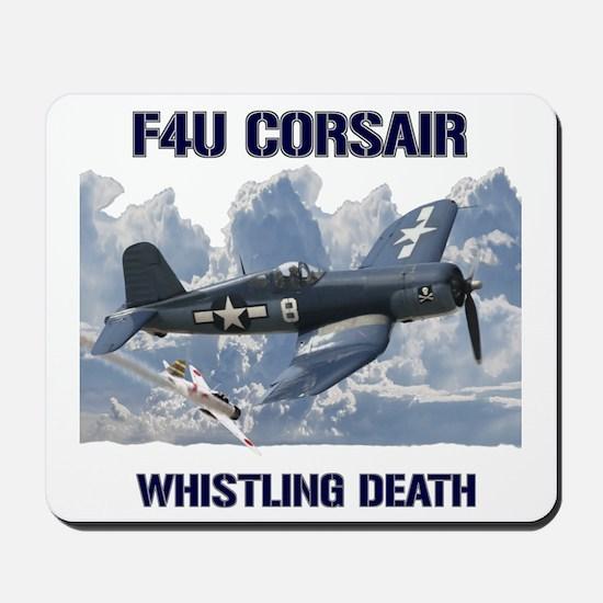 F4U Corsair Whistling Death Mousepad
