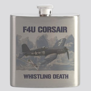 F4U Corsair Whistling Death Flask