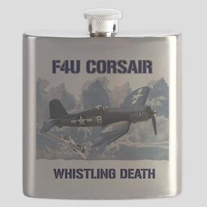 F4U Corsair Whistling Death Flask
