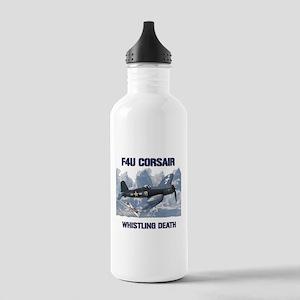 F4U Corsair Whistling Death Water Bottle