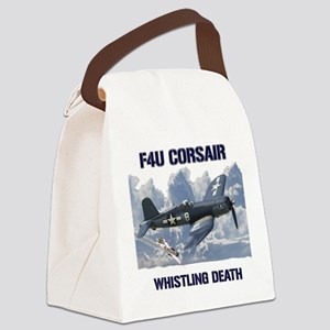 F4U Corsair Whistling Death Canvas Lunch Bag