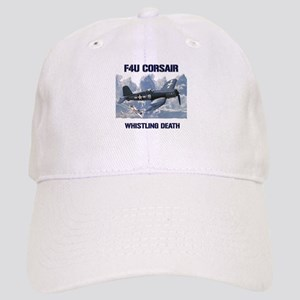 F4U Corsair Whistling Death Baseball Cap