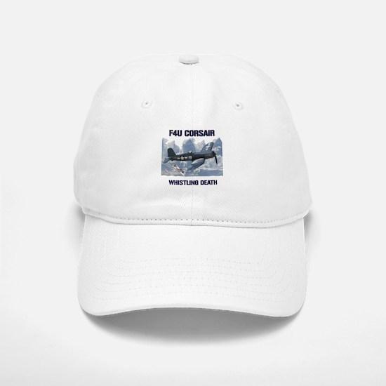 F4U Corsair Whistling Death Baseball Baseball Baseball Cap