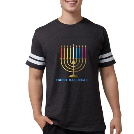 Happy Hanukkah Mens Football Shirt