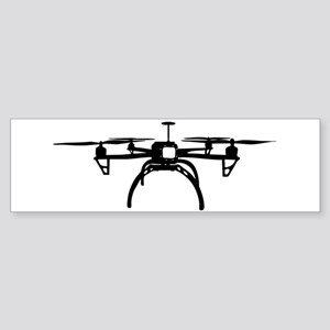 Quadcopter Bumper Sticker