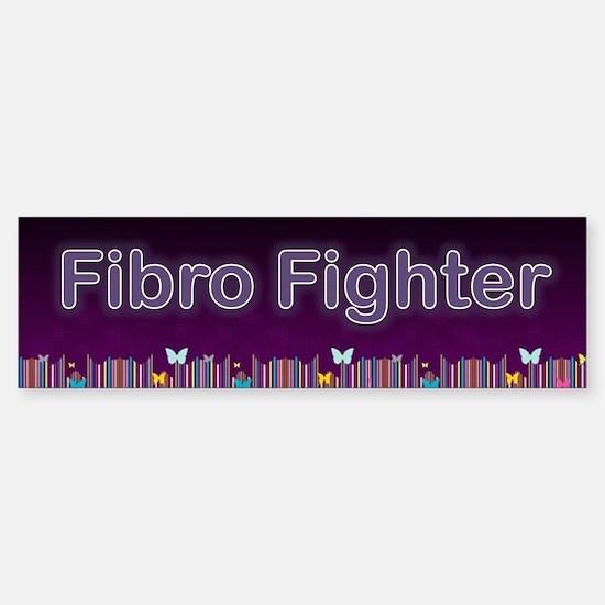 Fibro Fighter Bumper Bumper Bumper Sticker