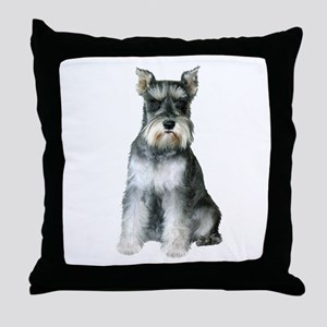 Schnauzer (gp2) Throw Pillow