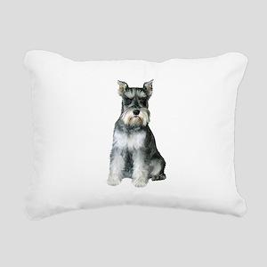 Schnauzer (gp2) Rectangular Canvas Pillow