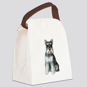 Schnauzer (gp2) Canvas Lunch Bag