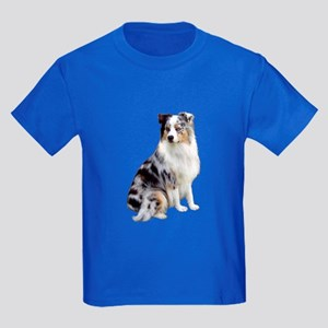 Australian Shep (gp1) Kids Dark T-Shirt