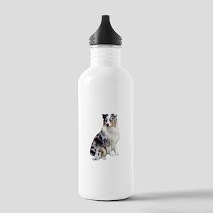 Australian Shep (gp1) Stainless Water Bottle 1.0L