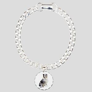 Australian Shep (gp1) Charm Bracelet, One Charm