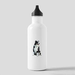 Australian Shep (BW) Stainless Water Bottle 1.0L