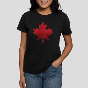Maple Leaf Women's Dark T-Shirt