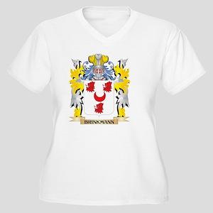 Brinkmann Coat of Arms - Family Plus Size T-Shirt