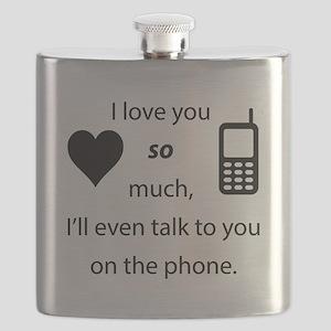 Introvert Love Flask