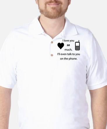 Introvert Love Golf Shirt