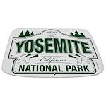 Yosemite Green Sign Bathmat