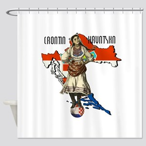 Croatia Culture Shower Curtain