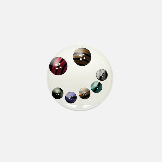 Those crazy Button Eyes Mini Button