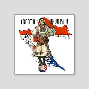 Croatia Culture Sticker
