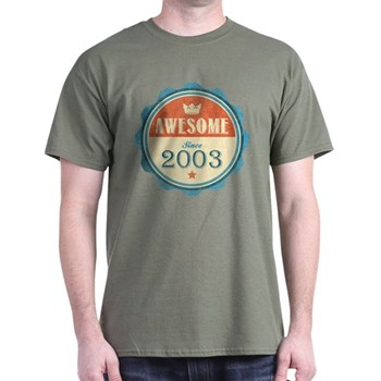 Awesome Since 2003 Dark T-Shirt