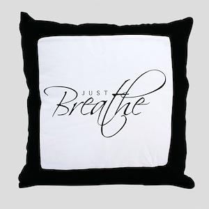 Just Breathe - Throw Pillow