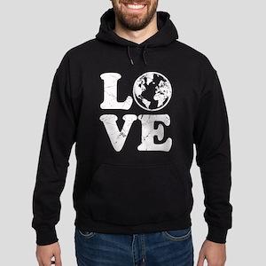 Vintage Love Earth Hoodie (dark)