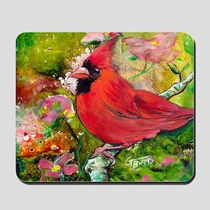 Kentucky Cardinal by GG Burns Mousepad