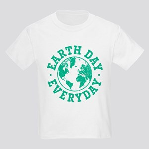 Vintage Earth Day Everyday Kids Light T-Shirt