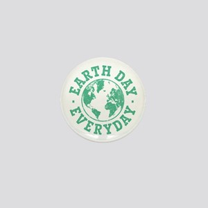 Vintage Earth Day Everyday Mini Button