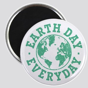Vintage Earth Day Everyday Magnet