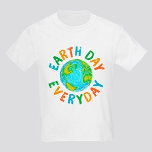Earth Day Everyday Kids Light T-Shirt