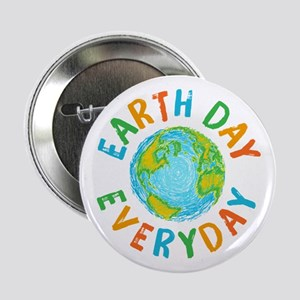 """Earth Day Everyday 2.25"""" Button"""