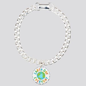 Earth Day Everyday Charm Bracelet, One Charm