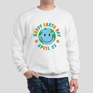 Happy Earth Day Sweatshirt